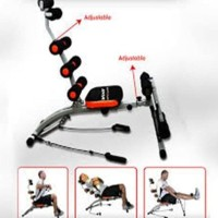 SIX PACK CARE alat fitnes sit up push butterfly leg bench press