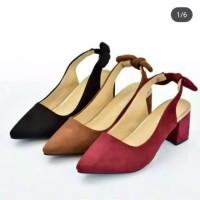 Hot Sale Big Heels Sepatu Sandal Pesta pita Murah 4 warna DW09 hak