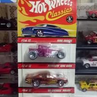hotwheels - classic super TH 3 pcs ban karet