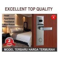 Pintu Kunci Door lock Grade A untuk Hotel Rumah Kontrakan RFID Card