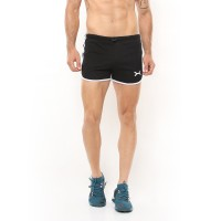FLEXZONE Celana Pendek - Black - for Gym Running Jogging FCS-005HT