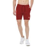 FLEXZONE Celana Pendek - Maroon - for Gym Running Jogging FCS-001MG