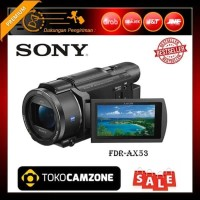 PROMO TERLARIS Sony FDR AX53 4K Ultra HD Handycam Camcorder PROMO