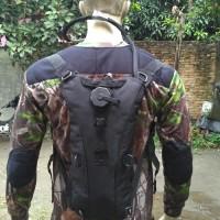 New waterbag import - camel bag - hydration backpack - tas air BLACK