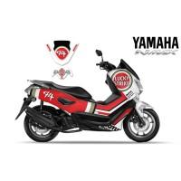 DECAL STRIPING MOTOR YAMAHA NMAX LUCKY STRAIK