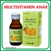 Becefort 60ml Vitamin terbaik dalam masa pertumbuhan anak