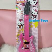 Mainan Gitar Anak Pink Kitty 50 cm