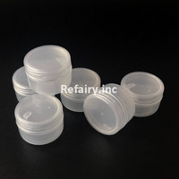 Pot Cream 10 gram import Transparan / Tempat wadah kosmetik krim