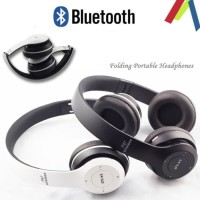 P47 Wireless Stereo Headphone - Bluetooth Beats V 4.1 / P47 - Putih