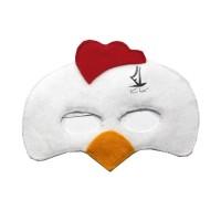 Topeng Flanel kostum hewan ayam jantan rooster pesta ulang tahun