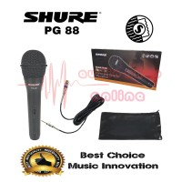 Mic Kabel Shure PG 88 Dynamic Microphone System