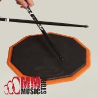 SZS Drum Pad Classic 11 inch Black & Orange