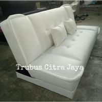 Sofa Bed Reklening kain Oscar