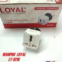Steker Serba Guna OVER STEKER ONEPRO WANPRO LOYAL LY-921K