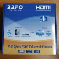 Kabel Hdmi Bafo 50m Full Hd / High Speed 50 Meter 50 M / Hdmi 50meter