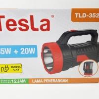 Senter lampu LED 35 watt + Emergency 20 watt merk TESLA type TLD-3520T