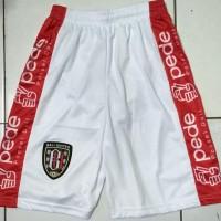 celana bola Bali united putih Berkualitas Tinggi