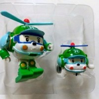 Mainan Anak Robocar Poli Heli 1 Set isi 2 - Transform