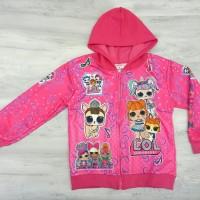 Jaket LOL pink anak kids sweater new arrival