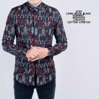 Kemeja Batik Songket Pria Modern