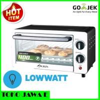 KIRIN KBO 100M LW Oven Listrik Loww Watt 400w kapasitas 10 Liter