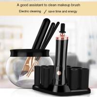 Mesin Alat Pembersih Kuas MakeUp Elektrik Brush Cleaner Dryer Washing