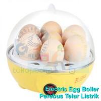 JN Electric Egg Cooker Boiler Alat Rebus Telur Listrik Manual Steamer