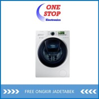 Samsung WW10K6410QW Mesin Cuci Front Loading with Ecobubble 10Kg