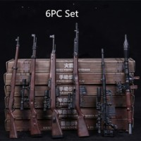 """1:6 Accessories Toy Gun Weapons 6pcs for 12"""" Action Figure Hot Toy"""
