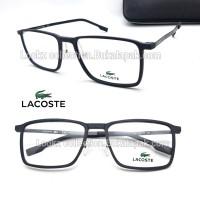Frame Kacamata Minus baca Lacoste Pure TR90 free Lensa anti uv