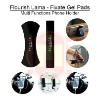 Flourish Fixate Gel Pads - Flourish Lama Rubber Pad - Phone Holder