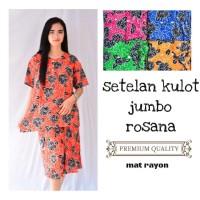 Setelan kulot batik jumbo rosana