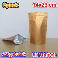 pouch emas glossi 500z/250gr kopi