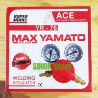 Regulator Las Acetylene ORIGINAL MaxYamato Tabung Gas Acetilen welding