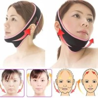 Strap Belt 3D Shape Oval Face Lift Pembuat Bentuk V-Shapeed Face
