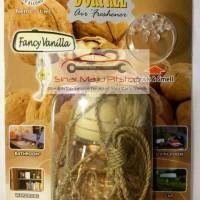 DORFREE Air Freshener - Parfum Gantung Mobil Aroma Harum FANCY VANILLA