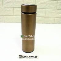 Souvenir Tumbler Vacuum Flask Stainless Steel Promosi 500ml Gold