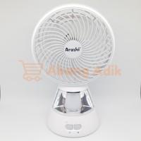Kipas Angin 7 inch Emergency Lamp Fan Arashi AR 138 MOSCOW AR138