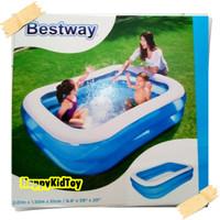 Kolam renang karet anak kotak BESTWAY 2Meter/kolam anak/mainan anak