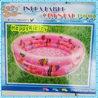 Kolam renang karet anak ikan 130cm bulat/Kolam anak/mainan anak