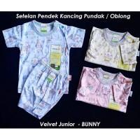 TERBARU Setelan Pendek Velvet Junior SML XL XXL Baju Bayi Piyama