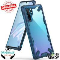 Case Huawei P30 Pro / P30 Ringke Fusion X Case Anti Crack Original - P30, Hitam