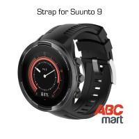 Strap for Suunto 9 BARO watch - Tali jam sport Suunto - BLACK