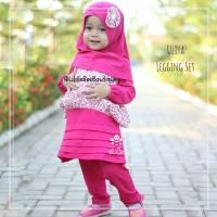 eLBi Uliya Legging Set - Baju Muslim Balita - Blouse Balita Lucu5-6thn
