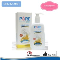 PUREBABY PURE BABY LIQUID SOAP 230 ML 230ML KULIT BAYI SENSITIVE