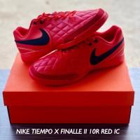 SEPATU FUTSAL NIKE TIEMPO X FINALLE II 10R RED IC