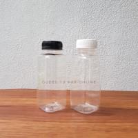 Botol Kick Square 250 ml (Kotak) - Botol Plastik 250ml