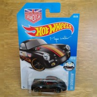 Hot Wheels Error Porsche 356 356A Black Outlaw Magnus Walker Error