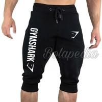 Celana Jogger PENDEK GYM SHARK / celana training olahraga fitness