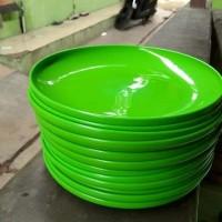 piring bulat Hoya hijau (12pcs)